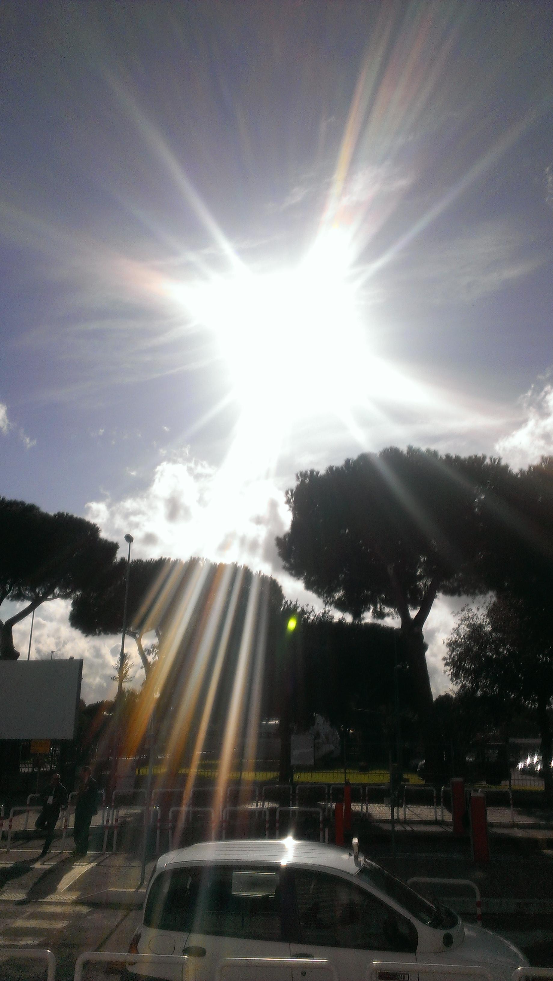 Sonnenschein in Rom